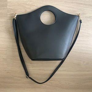 Target A New Day Black Circular Handle Work Bag